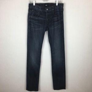 Hudson Blake Slim Straight  Button Fly Jeans sz 30